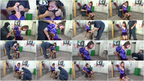 HunterSlair - Michelle Peters - Chicken winged chair bound & helpless