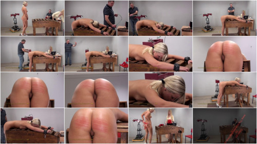 Single Tail Ass Whipping - Miela Video 01