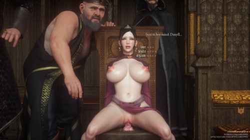 Jared999D - Fallen Lady 2 (English, Chinese, Textless) [impregnation,monsters,3D Porn Comic]