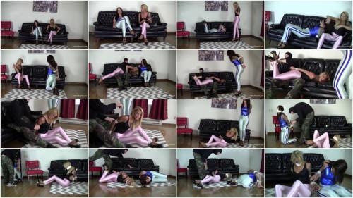 Bella Ink & Maria Marley - Roommate Drama Ends In Bondage