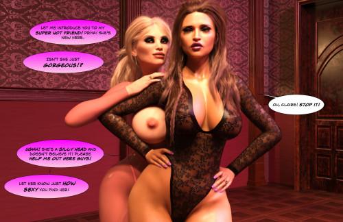 3DK-x - Unchaste 2 [3D Porn Comic,3dk-x,makeup]