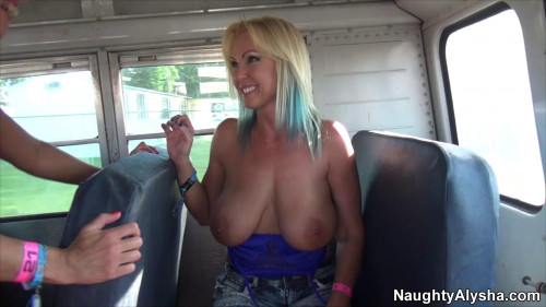 Naughty Alysha Porn Videos Pack part 4 [2018,Blondes,All sex,Big Toys,Anal]