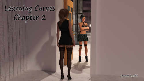 Learning Curves Part 1-2 [xide,tattoo,3D Porn Comic]
