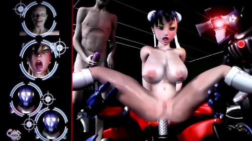 Virgin Fighter Training  [2014,Sexual Training,Robot Sex,Big tits]