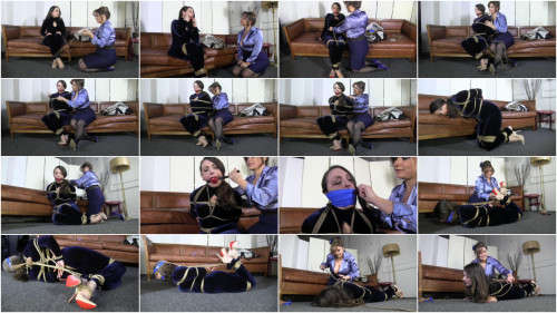 She Said It Was Her Most Challenging Hogtie To Date - Lilly Bee - HD 720p