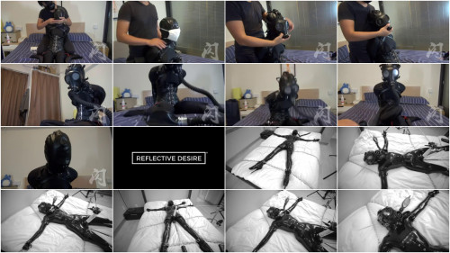 Tight restraint bondage, domination and punishment for hawt gal in latex HD 1080p