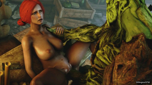 Secret desires of Triss [2018,Huge Cock,Monster,Big Ass]