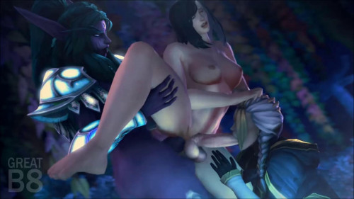 Bad Futa Bitches [2020,All sex,3D]