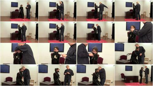 Elizabeth Andrews - Latex Catsuit, Armbinder, Ballet Boot Training