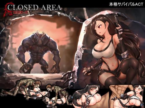 Closed Area Block Z [2021,Blowjob,Big tits,Female Protagonist]
