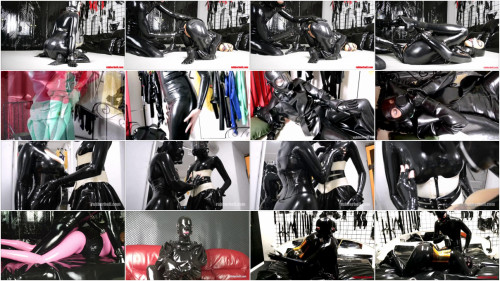 Rubberhell Latex & Rubber Video Pack 18 Scenes