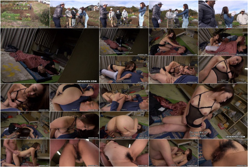 Lustful farmer beauty maki hojo drilled by a stranger
