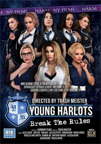 Young Harlots Break The Rules [2020,Full-length films,Harmony Films,Jasmine Jae,Threesomes,International,Sex Toy Play]