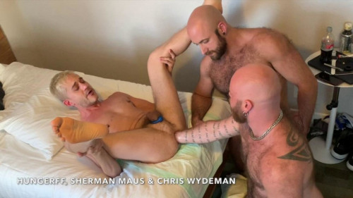 RFC - Triple Tag Team Fisting Pt2 Chris Wydeman and I FistFuck Sherman Maus