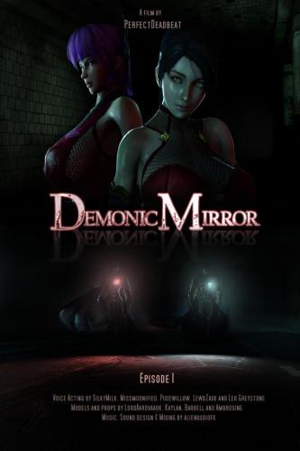Demonic Mirror - Episode 1 [2021,Parody,Blowjob,Rough Sex]