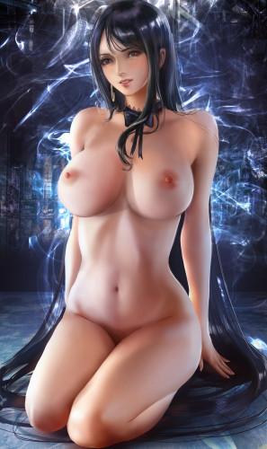 Donyta Erotic Artwork [sakura haruno,bikini,stockings]