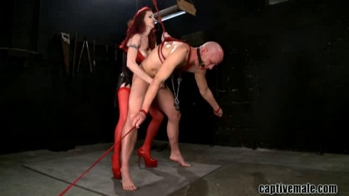 Hot Sweet The Best Excellent Unreal Collection Of Captive Male. Part 2. [2019,Femdom and Strapon]