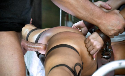 Olympian Gymnast in hottest BDSM action