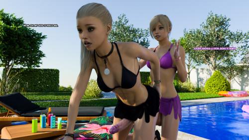 3DZen - Futa Step Sisters vol 3 [3D Porn Comic,cumshot,big dick]