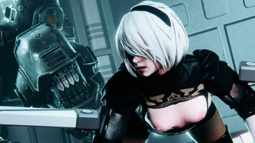 Nier: First [Ass]embley [2017,Anal sex,Android,Oral sex]
