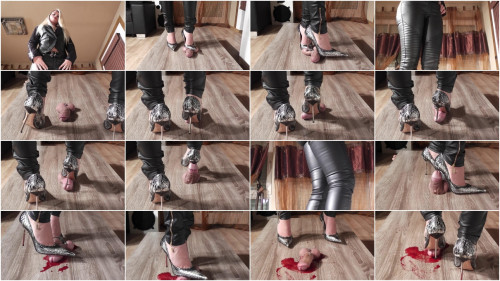 Lady Latisha Extreme Sadistic Heel Insertion Cruel Trample Cock Crushing Clip One (2014)