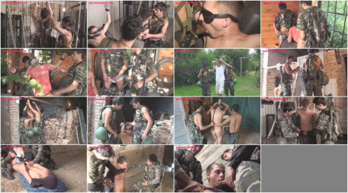 Abducted and Abused (Gay War Games)