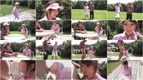 Karin Mizuno outdoor oral sex