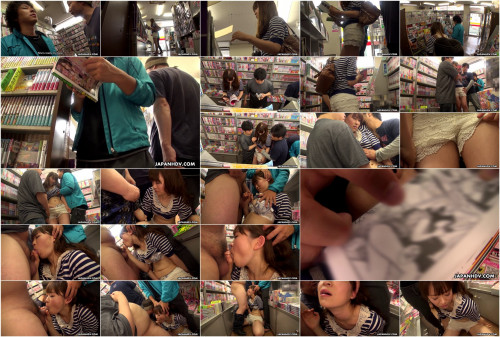 Yukina aizawa sucks dick in the library surrounded by fellows