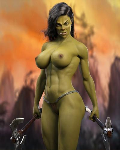 DarkenDen Art Collection [parody,big tits,elf]