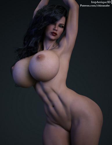 Impantique3D [shemale,big breasts,big ass]
