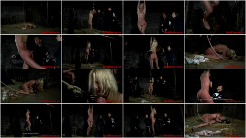 Witch Romina Endures Rope Suspension Part 2 - BrutalDungeon