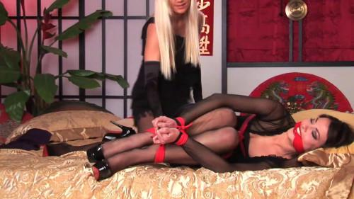 Heels and Ropes Lorena Garcia Lena Larsen [BDSM]