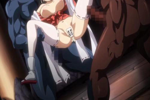 Kuroinu: Kedakaki Seijo wa Hakudaku ni Somaru Vol.03 [2014,Big tits,Monsters,Anal sex]