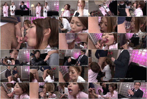 Makeup testing leads yu sakura and yuri aine into engulfing