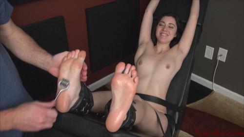 Foot Fetish and BDSM part 4 [2019,BDSM,OrgasmAbuse,Jessi Young, Orgasm,Racked,Tickling]