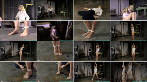 Bondage, strappado and spanking for sexy golden-haired part 1 Full HD 1080p
