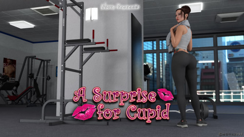 Nova - Real Surprise For Cupid [big breasts,huge cock,shemale]