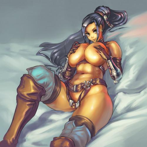 CuteSexyRobutts Artwork [artwork,muscle girl,big tits]