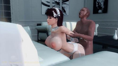 Maid Gets Blacked