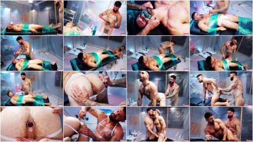 Wrapped - Scene 1 - Beau Butler and Alpha Wolfe 1080p