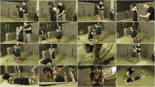 Extrem Bondage in the dungeon - HD 720p