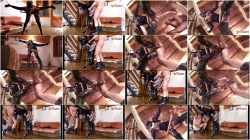 Hard bondage, torture and domination for very horny slave girl