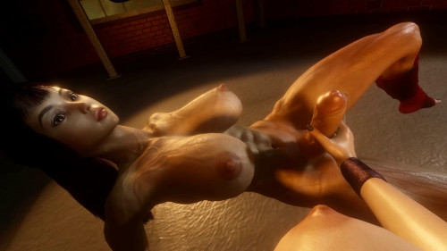 In the Gym [2019,All sex,3D]
