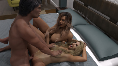 The Island Version 0.11 [2021,Vaginal sex,Big Tits,Lesbian]
