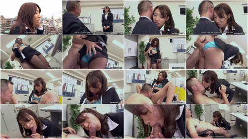 New Office Lady Anna Takizawa scene1