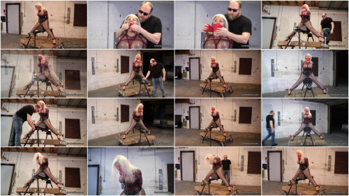Bondage, predicament and pain for excited slavegirl Full HD 1080p