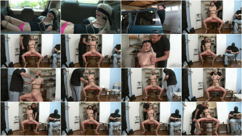 Tight restraint bondage, spanking and soreness for concupiscent blond part 1 Full HD 1080p
