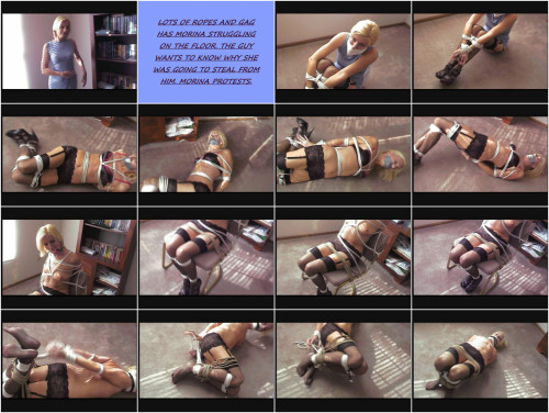 Morina hawt thief acquire restraint bondage lessons