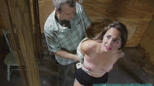 Crying out for help part 3 [2016,BDSM,Futile-Struggles,Secretary,Rope,Lingerie]