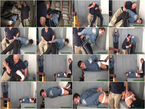 Bad Cop  -  Spanking a Patrol Officer - Part 1